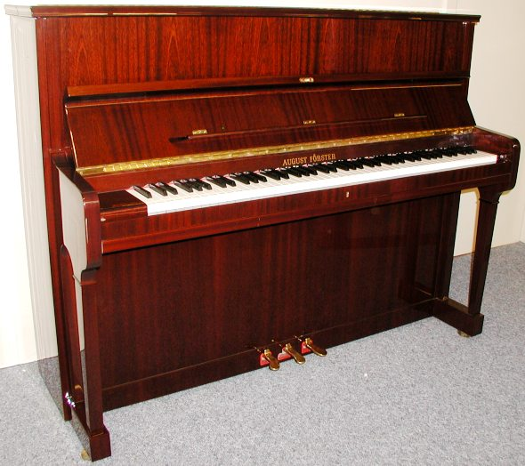 August Forster Upright Piano | Mark Goodwin Pianos